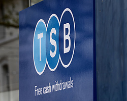 "EMBARGOED TO 0001 MONDAY APRIL 15 File photo dated 24/04/18 of a TSB sign. TSB has announced a new ""fraud refund guarantee"" to ensure its 5.2 million customers are protected if they are an innocent victim of a scam."