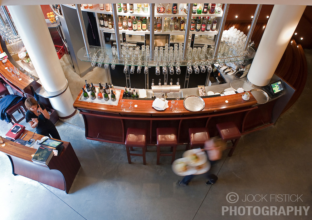The Cafe du Theatre restaurant in Ghent, Belgium, on Friday, Sept. 12, 2008. (Photo © Jock Fistick)