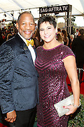 Mathis Dunn, Associate National Executive Director, SAG-AFTRA, and wife
