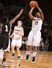 20090111 - Wake Forest at #15 Virginia (NCAA Women's Basketball)