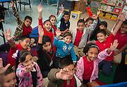 First grade class at Janowski Elementary School, May 16, 2013.
