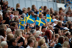 Swedish supporters<br /> FEI European Driessage Championships - Goteborg 2017 <br /> © Hippo Foto - Dirk Caremans<br /> 26/08/2017,