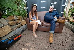 Tom Walker interview with Lisa Boyle on Friday 29th June at TRNSMT 2018.