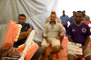 Pedro Leopoldo_MG, Brasil..Semana do transito em Pedro Leopoldo. Na foto palestra sobre higiene bucal...The week traffic in Pedro Leopoldo. In this photo, the lecture about the oral hygiene...Foto: LEO DRUMOND /  NITRO.