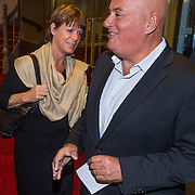 NLD/Leiden/20130930 - Premiere Garland, Jack van Gelder en partner Marja