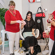 Shay Hoshiar @aspoonfulloffashion have a Scandinavian Skin Candy waxing at the Threads & Co Beauty launches permanent retail concept store everything from coffee to beauty to retail therapy on 24th May 2017. by See Li