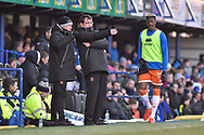 Blackpool Manager, Gary Bowyer during the EFL Sky Bet League 1 match between Portsmouth and Blackpool at Fratton Park, Portsmouth, England on 24 February 2018. Picture by Adam Rivers.