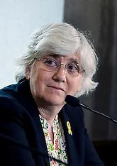 MEPs vote to lift Catalan separatists' immunity; Edinburgh, 9 March 2021