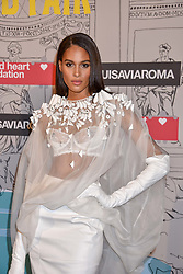 Cindy Bruna at the Fabulous Fund Fair in aid of Natalia Vodianova's Naked Heart Foundation in association with Luisaviaroma held at The Round House, Camden, London England. 18 February 2019.