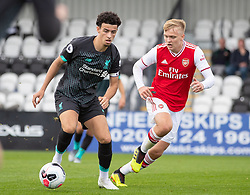 BOREHAMWOOD, ENGLAND - Saturday, September 28, 2019: Liverpool's Curtis Jones during the Under-23 FA Premier League 2 Division 1 match between Arsenal FC and Liverpool FC at Meadow Park. (Pic by Kunjan Malde/Propaganda)