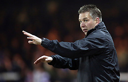 Peterborough United Manager, Darren Ferguson - Photo mandatory by-line: Joe Dent/JMP - Mobile: 07966 386802 11/03/2014 - SPORT - FOOTBALL - Peterborough - London Road Stadium - Peterborough United v Bristol City - Sky Bet League One