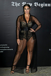 Milan Event Vogue Italy The New Beginning. Pictured Arrivals: Ashley Graham