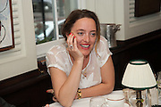 ALICE TEMPERLEY, Vanity Fair Lunch hosted by Graydon Carter. 34 Grosvenor Sq. London. 14 May 2013