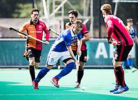 ROTTERDAM -  Ties Ceulemans (Kampong)  tijdens de wedstrijd om de derde plaats tegen Oranje Rood bij de ABN AMRO cup. COPYRIGHT KOEN SUYK