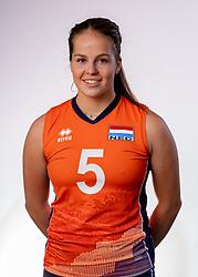 Sanne Konijnenberg of Netherlands, Photoshoot selection of Orange women's youth volleybal team season 2021on june 15, 2021 in Arnhem, Netherlands (Photo by RHF Agency/Ronald Hoogendoorn)