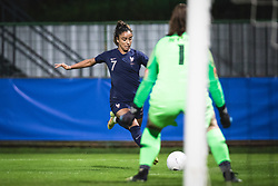 Sakina Karchaoui of France during football match between Slovenia and France in 2nd round of Women's world cup 2023 Qualifying round on 21 of September, 2021 in Mestni stadion Fazanerija, Murska Sobota, Slovenia. Photo by Blaž Weindorfer / Sportida