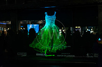 Dresses Tae gon KIM, Liberty, Lumiere London  16th January 2016<br /> <br /> Images taken by Richard Washbrooke Photography