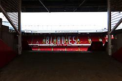 A general view of Bramall Lane, home to Sheffield United - Mandatory by-line: Ryan Crockett/JMP - 09/03/2019 - FOOTBALL - Bramall Lane - Sheffield, England - Sheffield United v Rotherham United - Sky Bet Championship