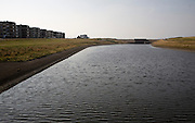 Binnenwatering at dusk Katwijk, Holland