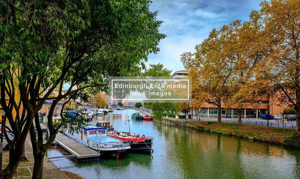Pleasure craft on the Canal du Midi, Toulouse, France<br /> <br /> (c) Andrew Wilson | Edinburgh Elite media