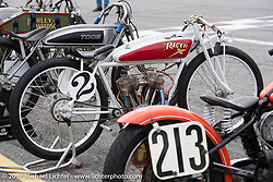 Rick Petko's 1919 Indian Power Plus at Billy Lane's Sons of Speed vintage motorcycle racing during Biketoberfest. Daytona Beach, FL, USA. Saturday October 21, 2017. Photography ©2017 Michael Lichter.