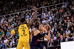 November 1, 2018 - Barcelona, Barcelona, Spain - Victor Claver, #30 of FC Barcelona Lassa in actions during EuroLeague match between FC Barcelona Lassa and Maccabi Fox Tel Aviv  on November 01, 2018 at Palau Blaugrana, in Barcelona, Spain. (Credit Image: © AFP7 via ZUMA Wire)
