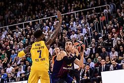November 1, 2018 - Barcelona, Barcelona, Spain - Victor Claver, #30 of FC Barcelona Lassa in actions during EuroLeague match between FC Barcelona Lassa and Maccabi Fox Tel Aviv  on November 01, 2018 at Palau Blaugrana, in Barcelona, Spain. (Credit Image: © AFP7 via ZUMA Wire)