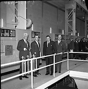 ESB Power Station opens at Ferbane, Co. Offfaly - for Cork Examiner .15/09/1958 .