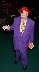 Jazz man GEORGE MELLY at a party for the relaunch of Pizza on The Park, 11 Knightsbridge, London on 20th October 2005.<br />