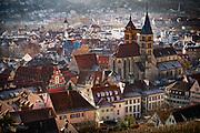 View of the old city of Esslingen