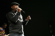 Chuck D performs with Apollo Heights at The ImageNation celebration for the 20th Anniversary of ' Do the Right Thing' held Lincoln Center Walter Reade Theater on February 26, 2009 in New York City. ..Founded in 1997 by Moikgantsi Kgama, who shares executive duties with her husband, Event Producer Gregory Gates, ImageNation distinguishes itself by screening works that highlight and empower people from the African Diaspora.
