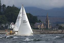 Marine Blast Regatta 2013 - Holy Loch SC<br /> <br />  9884T, Marisca, Alastair Pugh, Contessa 32 <br /> <br /> Credit: Marc Turner / PFM Pictures