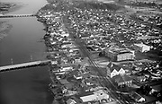 ackroyd_05791-4. Seaside business district aerial. January 19, 1955.