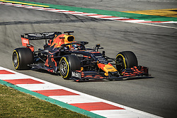 February 19, 2019 - Barcelona, Catalonia, Spain - PIERRE GASLY (FRA) from team Red Bull drives in his in his RB15 during day two of the Formula One winter testing at Circuit de Catalunya (Credit Image: © Matthias OesterleZUMA Wire)