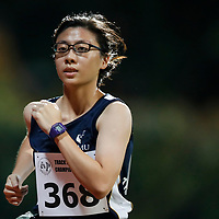 Loong Che Xing of Singapore Management University in action during the women's 5000m event. (Photo © Lim Yong Teck/Red Sports) The 2018 Institute-Varsity-Polytechnic Track and Field Championships were held over three days in January.<br /> <br /> Story: https://www.redsports.sg/2018/01/15/ivp-day-one/<br /> <br /> Story: https://www.redsports.sg/2018/01/18/ivp-day-two/<br /> <br /> Story: https://www.redsports.sg/2018/01/23/ivp-day-three/