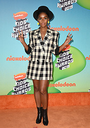 Janelle Monáe attends Nickelodeon's 2019 Kids' Choice Awards at Galen Center on March 23, 2019 in Los Angeles, CA, USA. Photo by Lionel Hahn/ABACAPRESS.COM