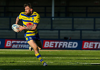 Warrington Wolves' Daryl Clark in action<br /> <br /> Photographer Alex Dodd/CameraSport<br /> <br /> Rugby League - Betfred Challenge Cup Quarter Finals - Catalans Dragons v Warrington Wolves - Friday 7th May 2021 - Emerald Headingley Stadium - Leeds<br /> <br /> World Copyright © 2021 CameraSport. All rights reserved. 43 Linden Ave. Countesthorpe. Leicester. England. LE8 5PG - Tel: +44 (0 116 277 4147 - admin@camerasport.com - www.camerasport.com