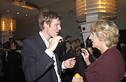 Camilla Parker-Bowles and Zac Goldsmith. Tom Parker Bowles, Susan Hill and Matthew Rice host party to launch 'E is For Eating' Kensington Place. 3 November 2004.  ONE TIME USE ONLY - DO NOT ARCHIVE  © Copyright Photograph by Dafydd Jones 66 Stockwell Park Rd. London SW9 0DA Tel 020 7733 0108 www.dafjones.com