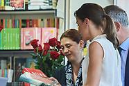 053119 Queen Letizia attends Opening of Madrid Book Fair
