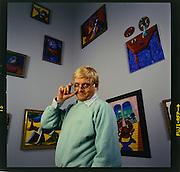 The artist David Hockney @ LACMA