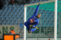 FOOTBALL - FRENCH CHAMPIONSHIP 2010/2011 - L1 - LILLE OSC v AS SAINT ETIENNE - 22/12/2010 - PHOTO JEAN MARIE HERVIO / DPPI - JEREMIE JANOT (ASSE)