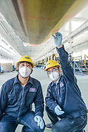 China / Xingjiang / Hami<br /> <br /> Wind Blade production <br /> @ Daniele Mattioli China Corporate Photographer for Covestro