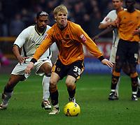 Wolverhampton v Leeds United  (1-0) Championship 24/02/2007<br /> Andy Keogh  (Wolves)<br /> Photo Roger Parker Fotosports International