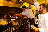Vitaly Paley's Imperial Restaurant located in Downtown Portland, Oregon in the Pacific Northwest, USA