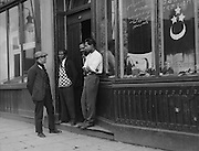 Burmese Cafe, West India Dock Road, Oriental Quarters, London, England, 1933