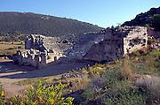 Roman Amphitheatre at Patara, Turkey