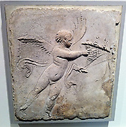 Stucco relief (Roman) depicting Eros. 1st Century AD