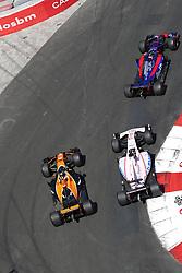 May 28, 2017 - Monte Carlo, Monaco - Motorsports: FIA Formula One World Championship 2017, Grand Prix of Monaco, .#26 Daniil Kvyat (RUS, Scuderia Toro Rosso), #11 Sergio Perez (MEX, Sahara Force India F1 Team), #2 Stoffel Vandoorne (BEL, McLaren Honda) (Credit Image: © Hoch Zwei via ZUMA Wire)