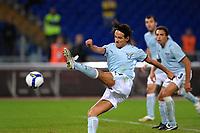 """Simone Inzaghi (Lazio) scores draw<br /> Il gol di Simone Inzaghi<br /> Roma 4/10/2008 Stadio """"Olimpico""""<br /> Campionato Italiano Serie A 2008/2009<br /> Lazio Lecce (1-1)<br /> Foto Andrea Staccioli Insidefoto"""