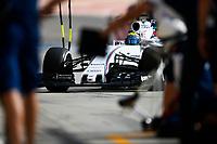 MASSA felipe (bra) williams f1 mercedes fw37 action pitlane during 2015 Formula 1 FIA world championship, Bahrain Grand Prix, at Sakhir from April 16 to 19th. Photo Florent Gooden / DPPI